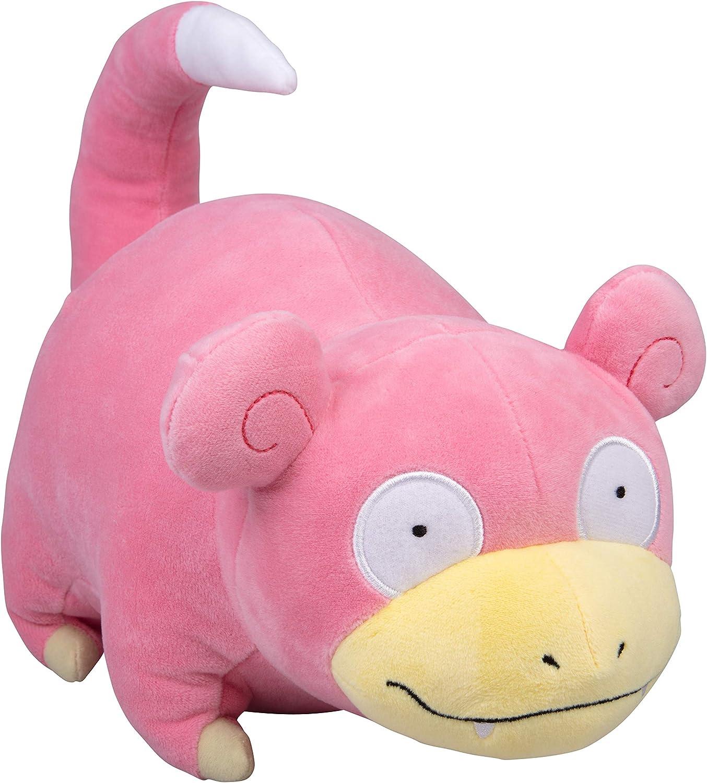 """Pokémon Slowpoke Plush Stuffed Animal - Large 12"""""""