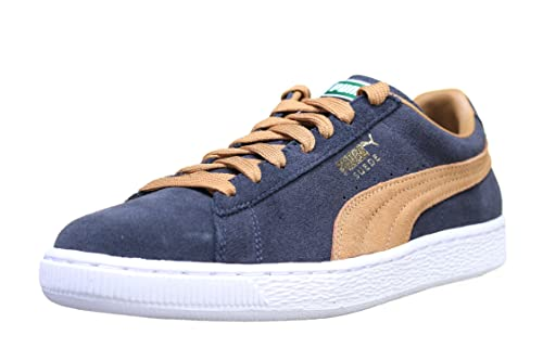 6199cbe4b74882 Puma Womens Suede Classic Leather Low Top Lace up Fashion Sneakers ...