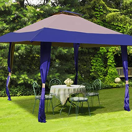 Amazoncom Yardwind Outdoor Canopy 13 X 13 Outdoor Patio Gazebo