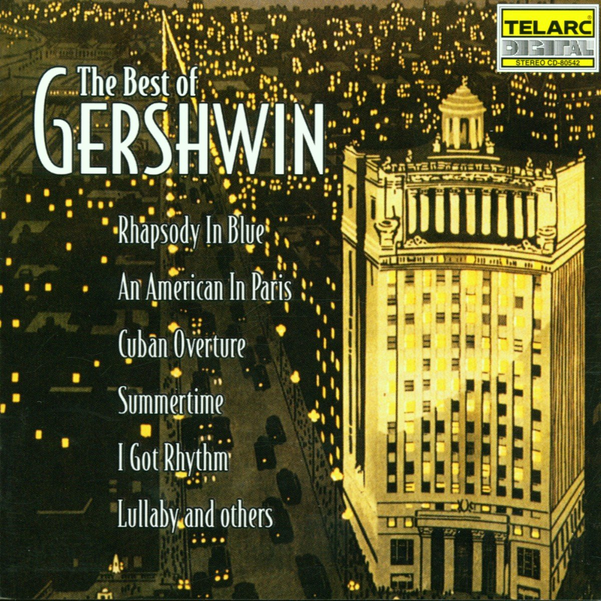 CD : Various Artists - Best Of Gershwin / Various (CD)