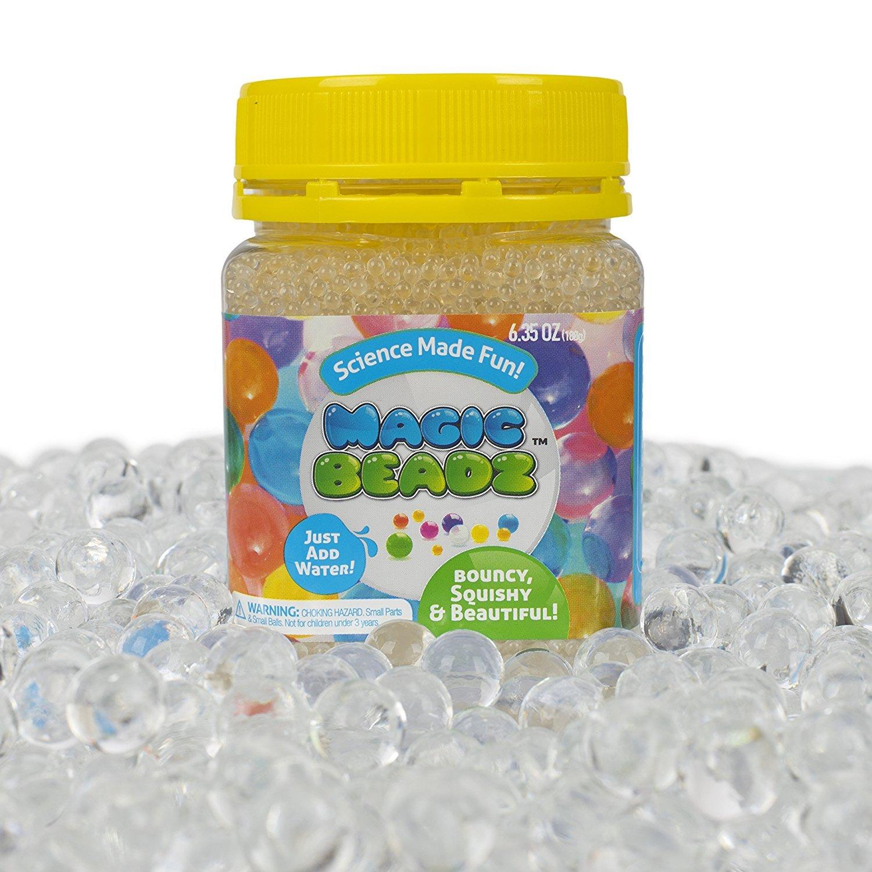 Amazon magic beadz blue gel water beads transparent jelly magic beadz clear jelly water beads transparent gel pearls vase filler wedding reviewsmspy