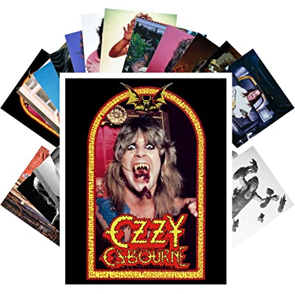 Amazon com: Postcard Set 24 cards OZZY OSBOURNE Posters