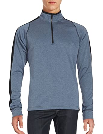 Amazon.com: Hawke & Co. Men's 1/4 Zip Pullover Active Sweatshirt ...