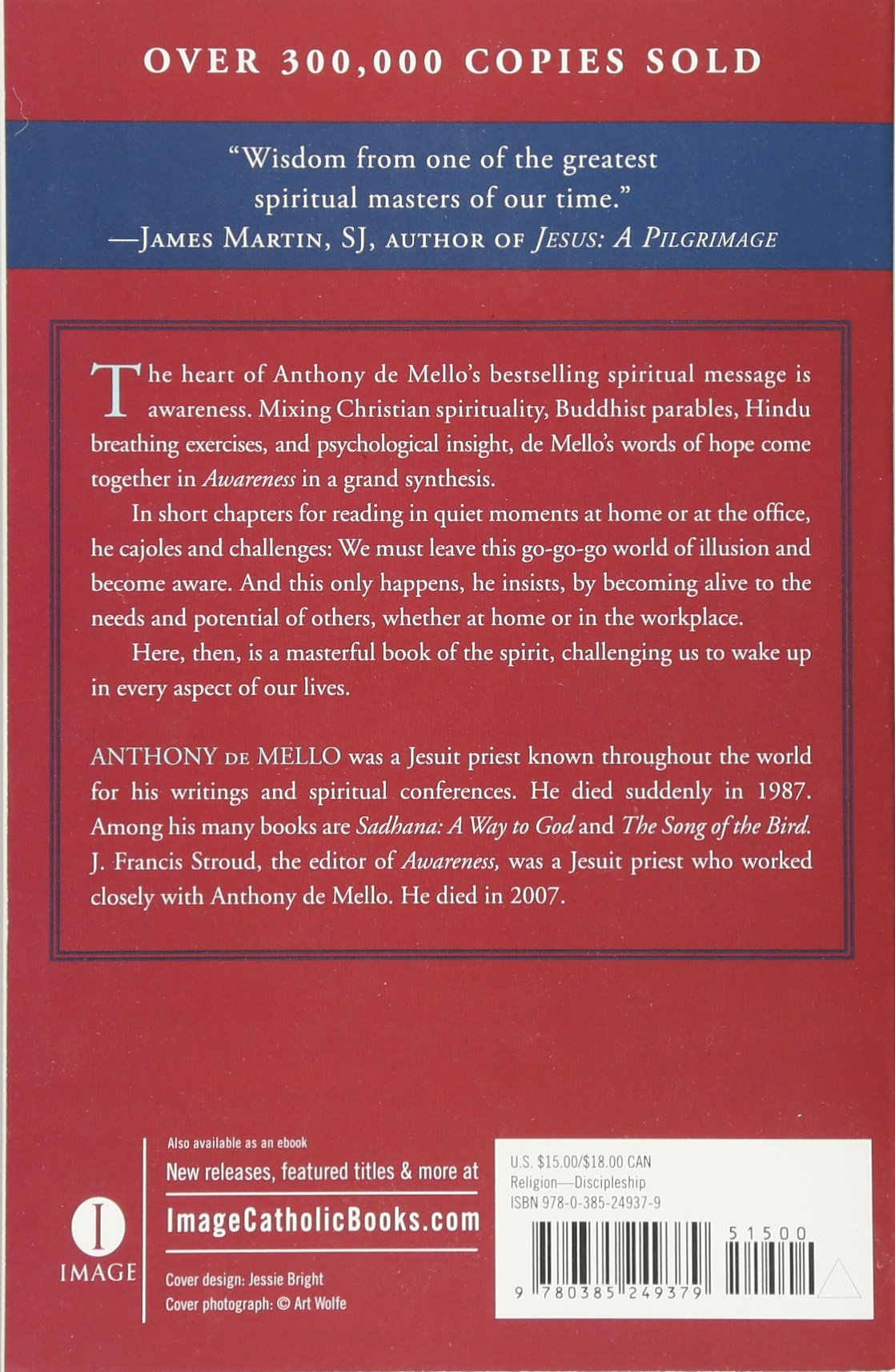 Awareness: The Perils And Opportunities Of Reality: Anthony De Mello, J  Francis Stroud: 9780385249379: Amazon: Books