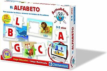 Clementoni- Aprende el Alfabeto (Castellano/Inglés) + Juego Webcam (65202.0): Amazon.es: Juguetes y juegos