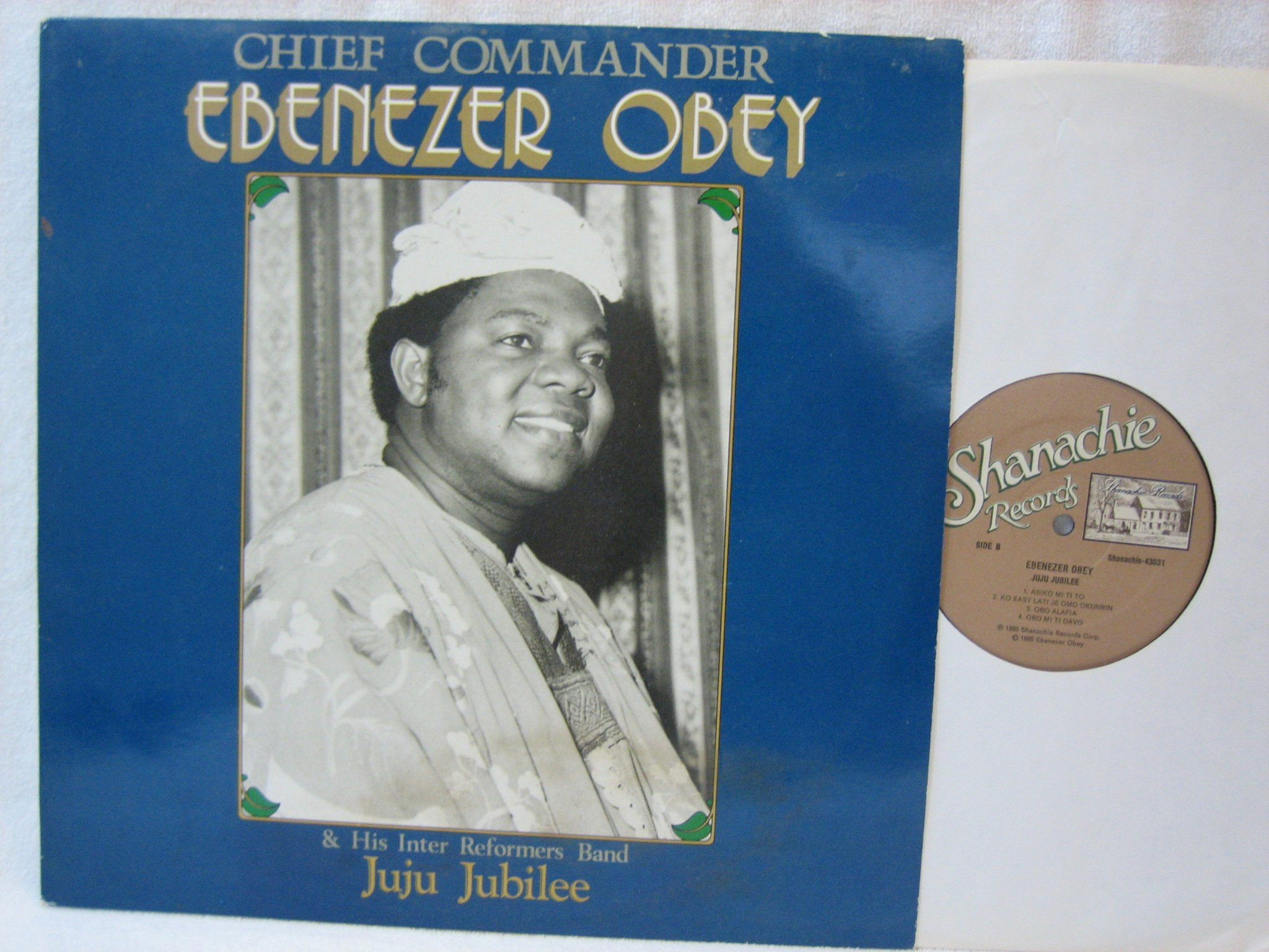 Juju Jubilee [Vinyl] by Shanachie