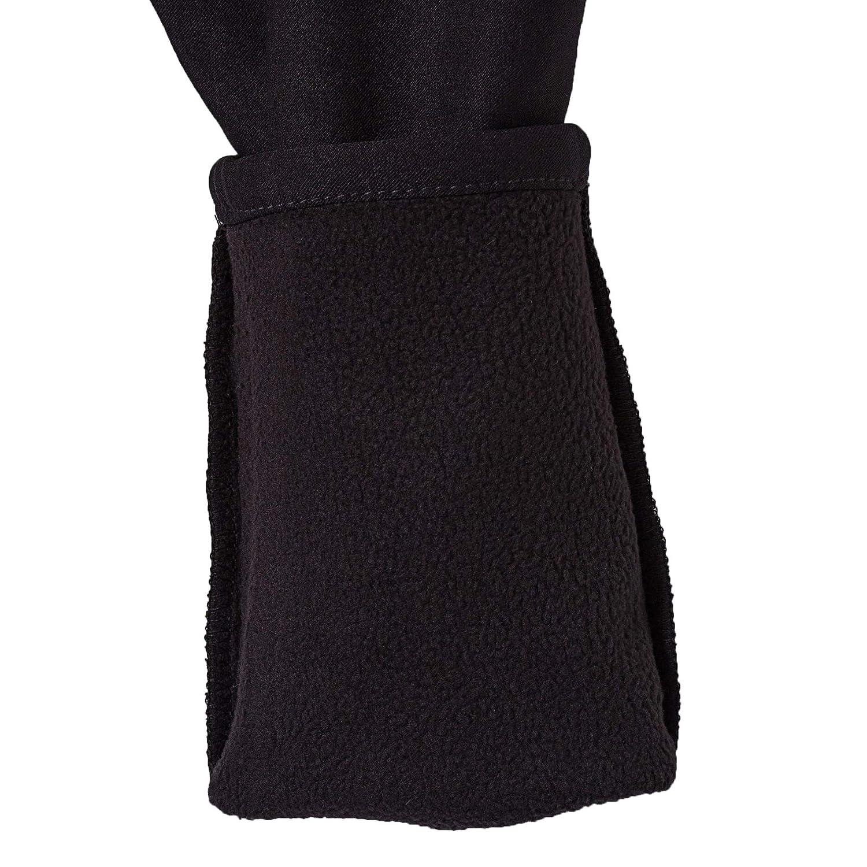 16,Black bossini Winter Selection Girls Solid Warm Full Length Leggings Size 4t