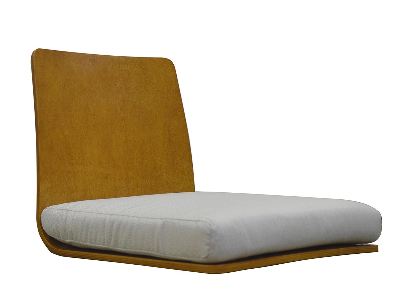 曲げ木スタッキング座椅子 ナチュラル CRG-010 B01MQSZKFT  ナチュラル