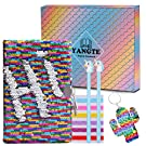 Magic Sequin Notebook Gel Pens Set - Colorful DIY Reversible Sequin Kids Secret Diary,Lockable Diary with Padlock & Keys,Christmas Birthday Gifts for Girls of All Ages: 3 4 5 6 7 8 9