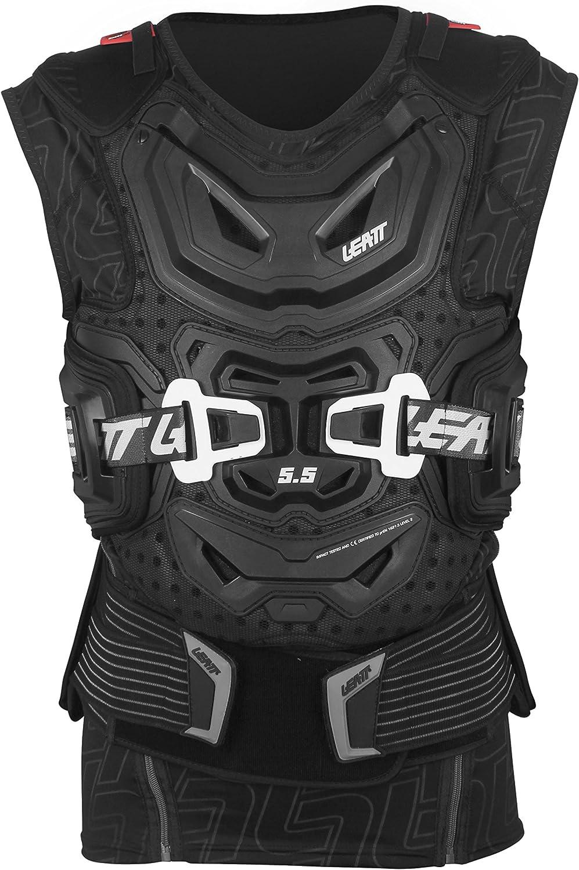 Leatt Protektorweste Body Vest 5 5 Weiß Bekleidung