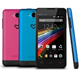 "Energy Phone Colors - Smartphone libre Android (4"", 3G, 4 GB, Dual SIM, 5 MP, Bluetooth), multicolor"