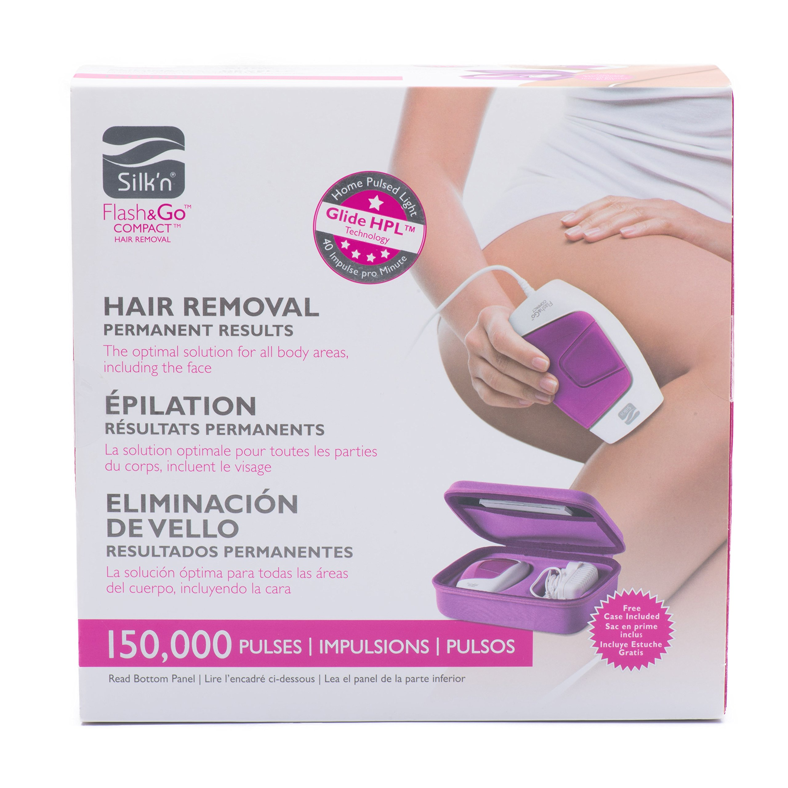Silk'n Flash&Go Compact Laser Hair Removal Device and Trimmer by Silk'n (Image #7)