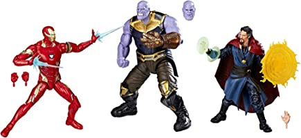Marvel Figuras Iron Man Mark L & Thanos & Doctor Strange 10th Anniversary