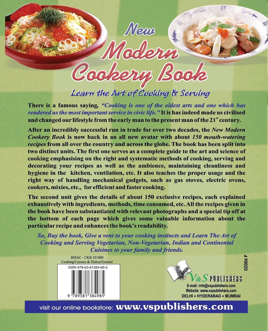 New modern cookery book asha rani vohra 9789381384985 amazon new modern cookery book asha rani vohra 9789381384985 amazon books forumfinder Images