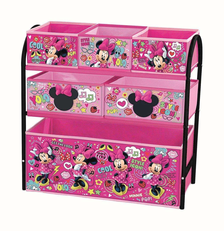 Disney Minnie Maus Aufbewahrungsregal mit mehreren Fächern, Metall ...