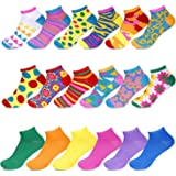 Women's No-Show Low Cut Socks - Sockletics by Hot Feet, Value Pack of 18 Pairs