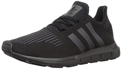 best website 87a74 31902 adidas Originals Boys  Swift J Running Shoe, Utility Black, 3.5 Medium US  Big