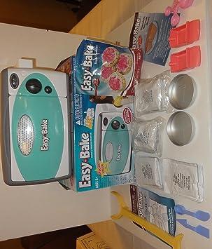 Easy Bake - Centro de horno y aperitivos, incluye 11 mezclas, 2 ...