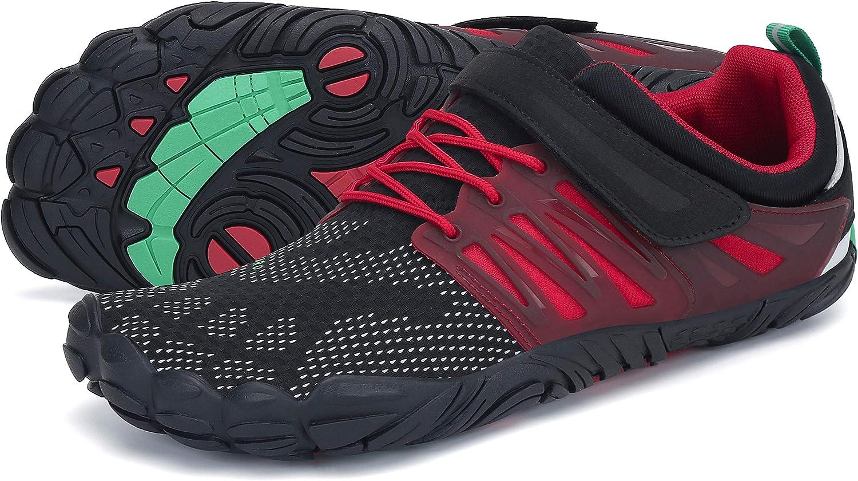 SAGUARO Hombre Zapatillas Barefoot de Trail Running para Mujer ...