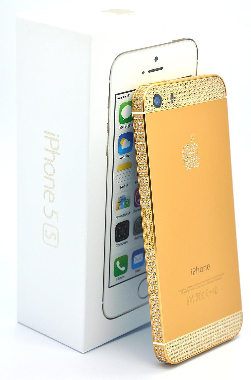 bd7628ab30179 Amazon.com: Apple Iphone 5s - 16gb 24k Gold Plated /Swarovski ...