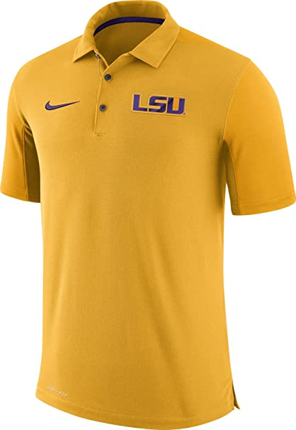 ed98a969 Amazon.com : NIKE Men's LSU Tigers Gold Team Issue Football Sideline ...