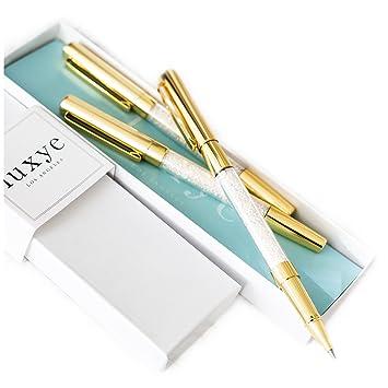 A slim pen, it measures 5-1/4