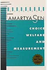 Choice, Welfare & Measurement Paperback