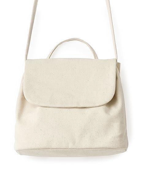 1d0c96711a6 Amazon.com  BAGGU Canvas Shoulder Bag, Stylish and Roomy Purse for ...