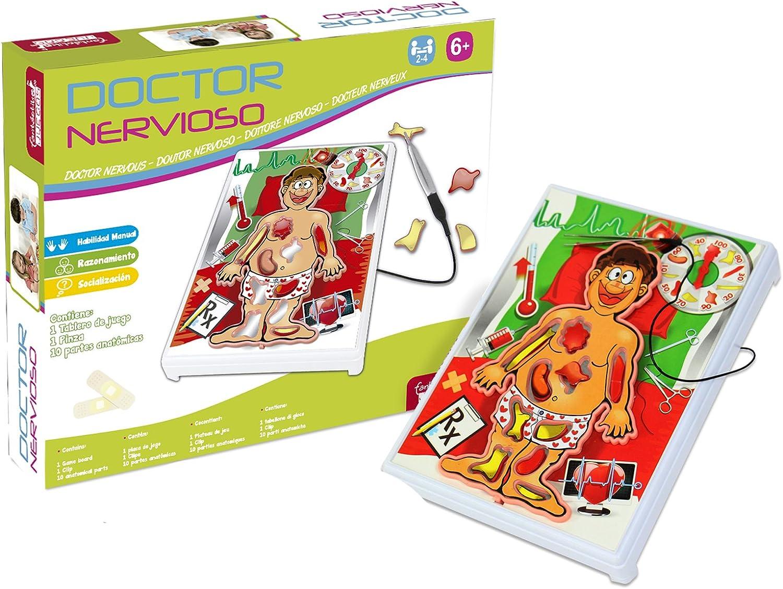 JUINSA- Juego Doctor Operaciones (32746): Amazon.es: Juguetes y juegos