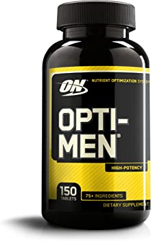 Optimum Nutrition Opti-Men Mens Daily Multivitamin Supplement