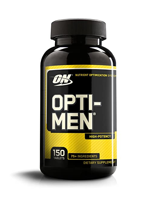 OPTIMUM NUTRITION Opti-Men, Mens Daily Multivitamin Supplement -150 tablets