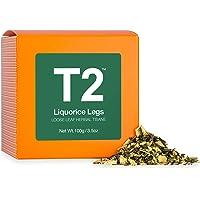 T2 Tea Liquorice Legs Loose Leaf Herbal Tea in Box, 3.5 Ounce (100g)