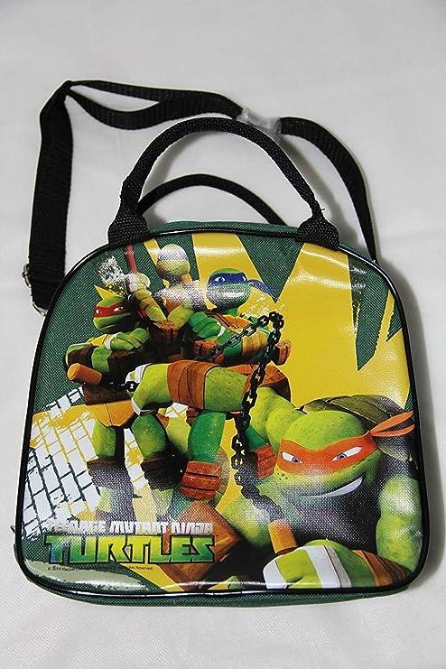 Amazon.com: Caja de almuerzo de las Tortugas Ninja Bolsa de ...