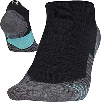 68d9a24634 Amazon.com: Under Armour Run 2.0 No Show Tab Socks for Men and Women ...