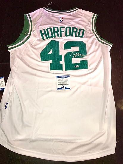 09c67e1d269 Al Horford Autographed Jersey - Beckett BAS Cert - Beckett Authentication - Autographed  NBA Jerseys at Amazon's Sports Collectibles Store