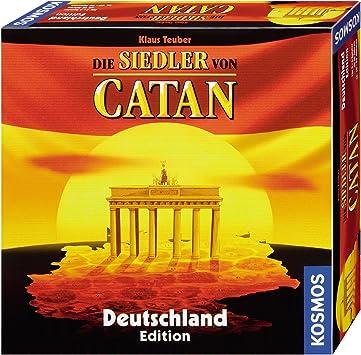 KOSMOS 6906490 Siedler Von Catan - Juego de Mesa sobre construcción de pueblos (en alemán): Teuber, Klaus: Amazon.es: Juguetes y juegos