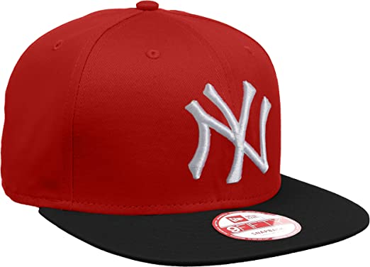 New Era MLB YAN - Gorra para Hombre, Color Negro, Talla única ...