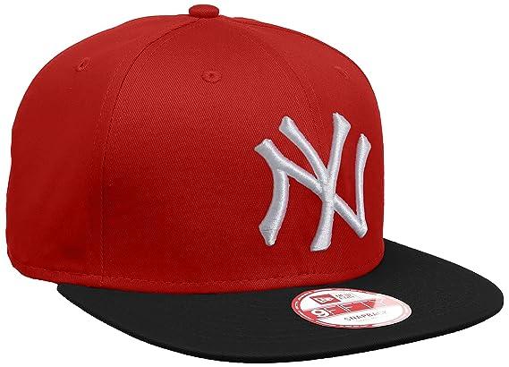 A NEW ERA ERA ERA ERA ERA ERA Mujeres Gorras/Gorra Snapback MLB Cotton Block NY Yankees