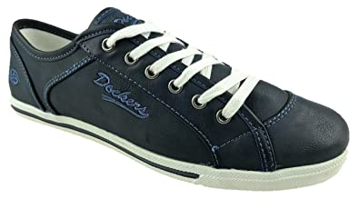 78e3806f08b Dockers Ladies by Gerli Low TOP Sneakers Trainer Shoes Size UK 3-8 ...