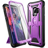 YOUMAKER Designed for Galaxy S9 Case, Heavy Duty Protection Kickstand with Built-in Screen Protector Shockproof Case…