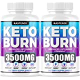 Keto Diet Pills - (2-Pack | 120 Capsules) - Keto Pills for Keto Burn & Energy - Perfect Keto Fast Bhb Capsules with…
