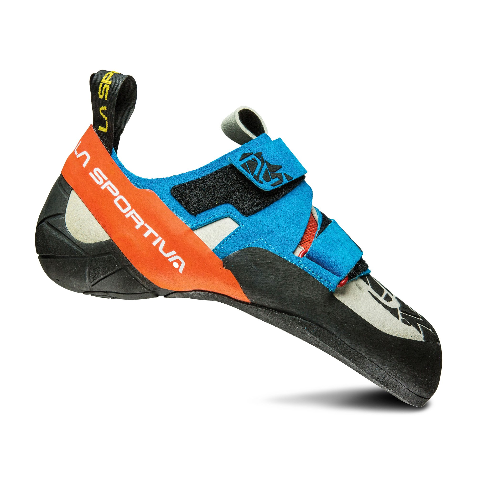 La Sportiva OTAKI Climbing Shoe, Blue/Flame, 42.5
