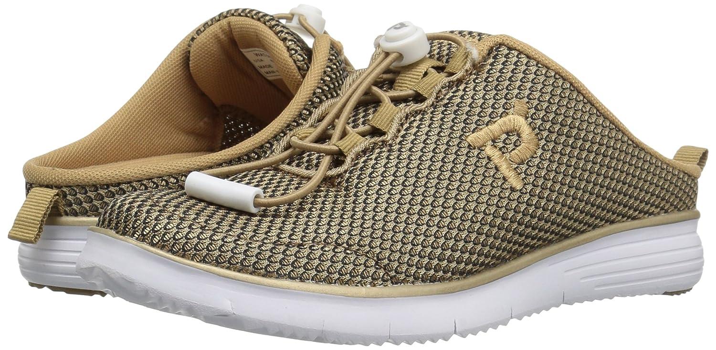Propet Women's TravelFit Slide B(M) Walking Shoe B01IOEUU30 8.5 B(M) Slide US|Gold/Black 93e2c1