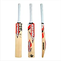 Spartan, Cricket, Sikander Grade 3 English Willow Cricket Bat, Orange, Short Handle