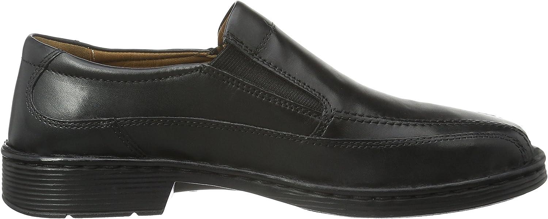JOSEF SEIBEL Chaussures Business Très Confortable Chaussures en cuir Bradford 07 38288 Noir