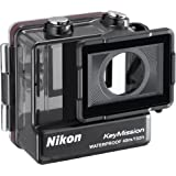 Nikon Waterproof Case WP-AA1 Custodia Subacquea per KeyMission 170, Nero