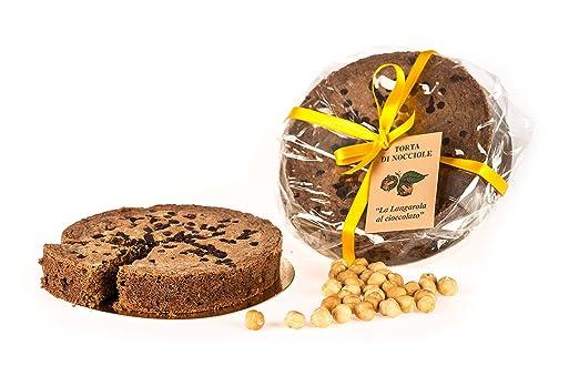 Piemont Haselnuss Kuchen Mit Schokolade Stuckchen 400gr Amazon De