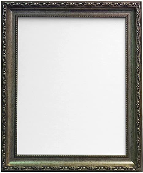 FRAMES BY POST Shabby Chic Picture, Photo and Poster Frame, Silver ...