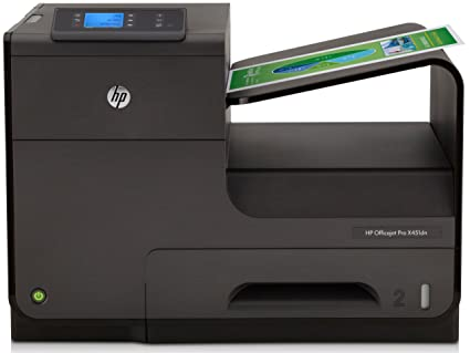 HP Officejet Pro X451dw - Impresora de tinta - B/N 36 PPM, color 36 PPM