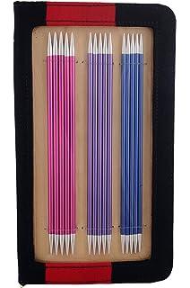41614 Knitpro Nadelspiel  Karbon Stricknadel-Set  Strumpfstricknadel 15cm Art
